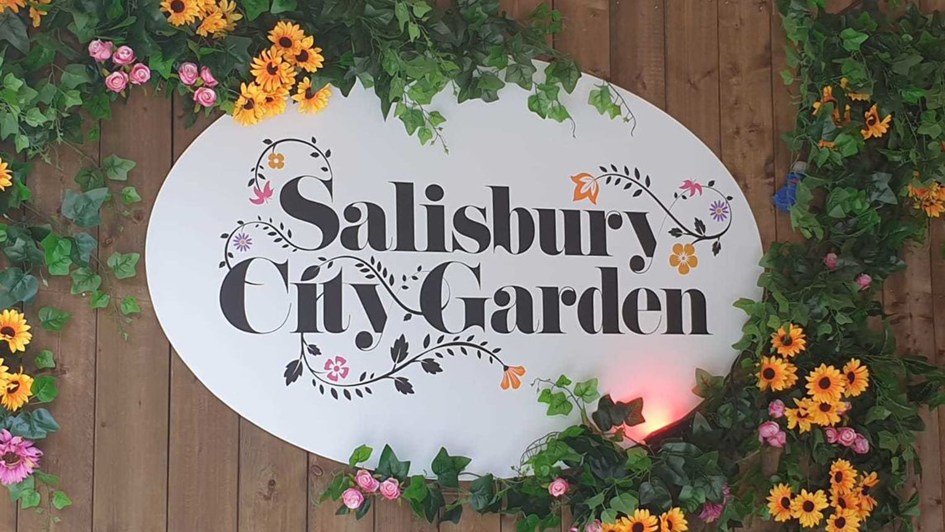 Aegis Security Support providing security for Salisbury City Garden Pop-up Bar