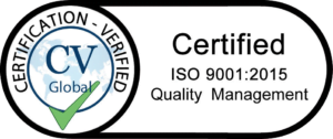 Aegis Security Support ISO 9001:2015 Quality Management